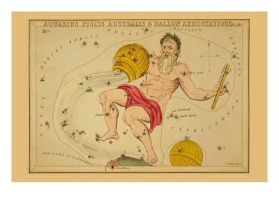 Aquarius, Piscis Australis and Ballon Aerostatique