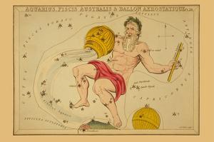 Aquarius, Piscis Australis and Ballon Aerostatique by Aspin Jehosaphat