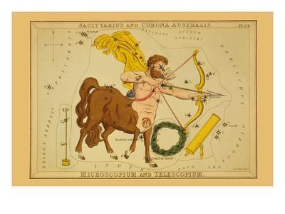 Sagittarius and Corona Australis, Microscopium, and Telescopium