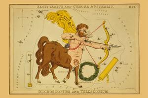 Sagittarius and Corona Australis, Microscopium, and Telescopium by Aspin Jehosaphat