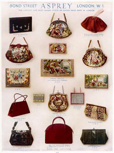 Asprey Handbags Advertisement--Photographic Print