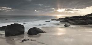 Midnight Sunset by Assaf Frank