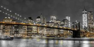 New York Lights by Assaf Frank