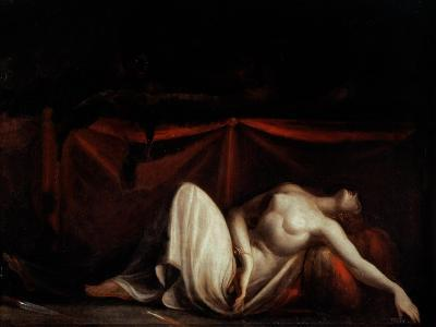Assassinated Woman and the Furies-Henry Fuseli-Giclee Print