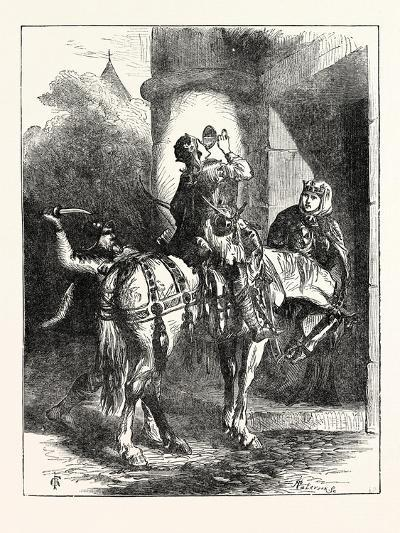 Assassination of Edward the Martyr--Giclee Print