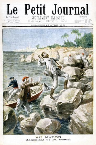 Assassination of M.Pouzet, 1901--Giclee Print