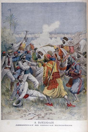 Assassination of the European Consuls, Djeddah, 1895-Henri Meyer-Giclee Print