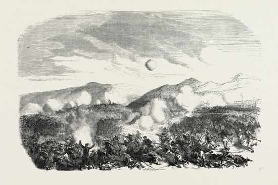 Assault of the Kars, the Crimean War, 1855--Giclee Print