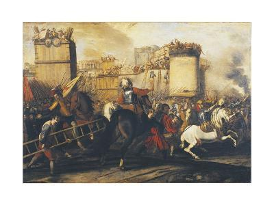 Assault on Fortress--Giclee Print