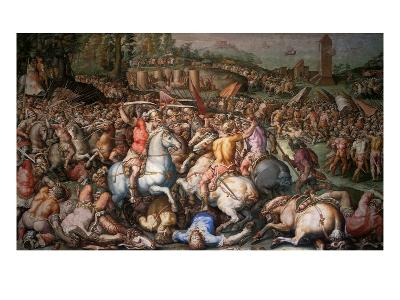 Assault on Pisa, 1565-Giorgio Vasari-Giclee Print