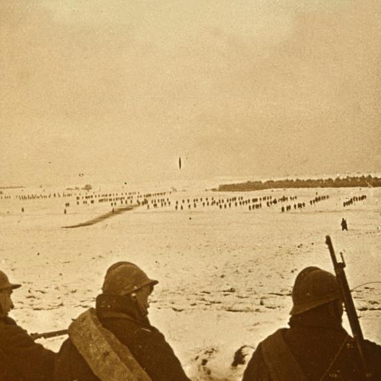 Assault waves, c1914-c1918-Unknown-Photographic Print