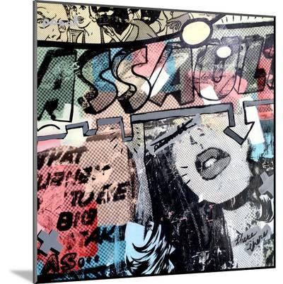 Assault-Dan Monteavaro-Mounted Print