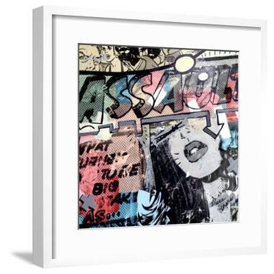 Assault-Dan Monteavaro-Framed Giclee Print