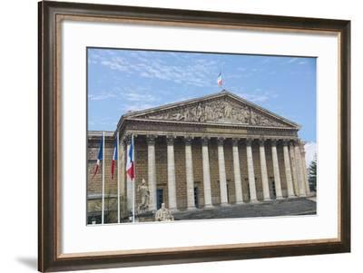 Assemble?e Nationale Paris-Cora Niele-Framed Giclee Print