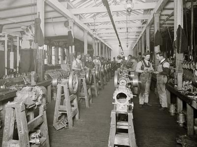 Assembling Room, Leland Faulconer Manufacturing Co., Detroit, Mich.--Photo