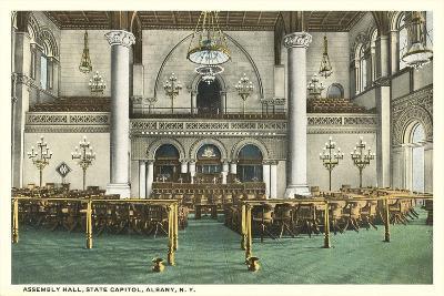 Assembly Hall, Albany--Art Print