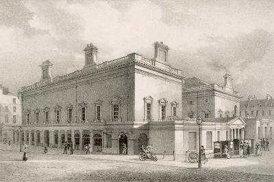 Assembly Rooms, Bath, C.1883-R. Woodroffe-Giclee Print