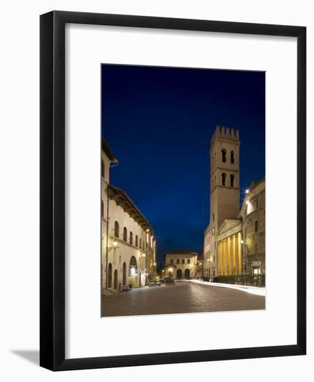 Assisi, Umbria, Italy-Angelo Cavalli-Framed Photographic Print