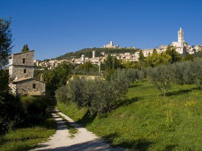 Assisi, UNESCO World Heritage Site, Umbria, Italy, Europe-Charles Bowman-Photographic Print
