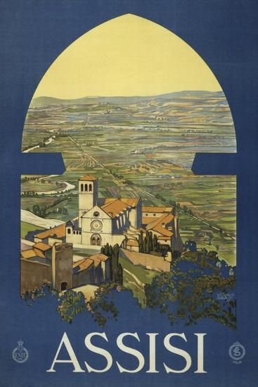Assisi--Giclee Print