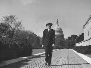 Associate Justice William O. Douglas, Arriving at the Supreme Court