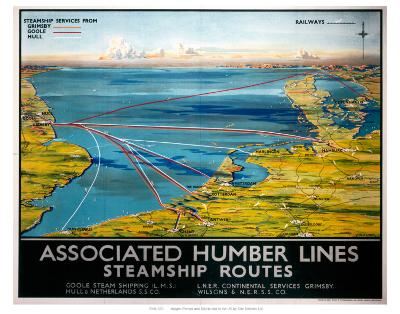 Associated Humber Lines--Art Print