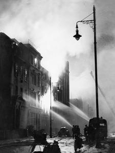 Firefighters Tackle Blaze Hatton Garden by Associated Newspapers