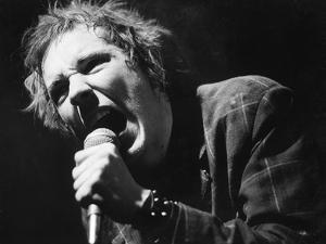 Johnny Rotten Sings by Associated Newspapers
