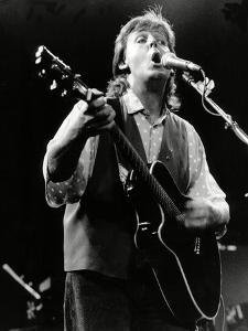 Paul Mccartney on Stage In, 1989 by Associated Newspapers