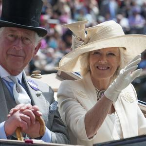 Prince Charles and Camilla at Royal Ascot by Associated Newspapers