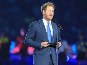 Prince Harry opening the Rugby World Cup 2015 by Associated Newspapers