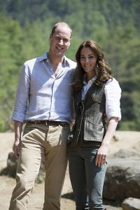 Prince William and Catherine in Bhutan by Associated Newspapers