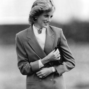 Princess Diana in Bedfordshire Visiting Disabled Children by Associated Newspapers