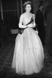 Queen Elizabeth II at the Royal Festival Hall, London by Associated Newspapers