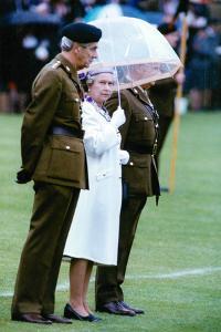 Queen Elizabeth II in Northern Ireland by Associated Newspapers