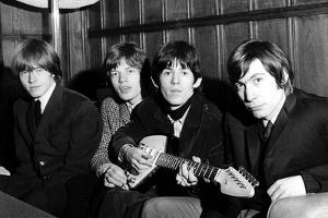 Rolling Stones Donate a Guitar by Associated Newspapers