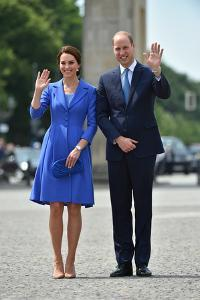 The Duke and Duchess of Cambridge meet the public at the Brandenburg Gate, Berlin, Germany by Associated Newspapers