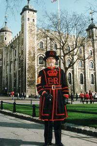 Yeoman Warder of the Tower of London by Associated Newspapers