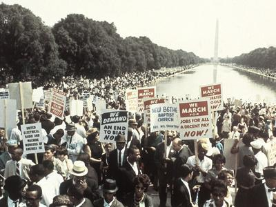 Civil Rights Washington March 1963