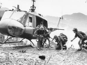 Vietnam War Hamburger Hill US Wounded by Associated Press