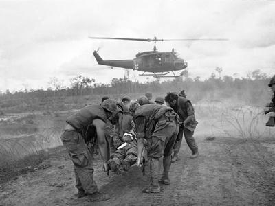 Vietnam War S U.S. Soldiers Wounded