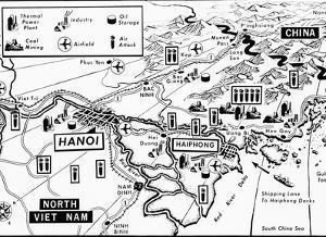 Vietnam War Target Map by Associated Press