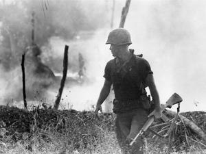 Vietnam War U.S. Marine by Associated Press