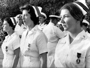 Vietnam War U.S. Nurse Medal by Associated Press
