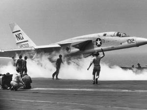 Vietnam War US Carrrier Aviation by Associated Press