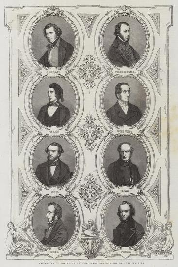Associates of the Royal Academy--Giclee Print