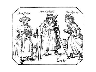 Associates of the Witches of Belvoir--Giclee Print