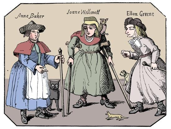 Associates of the Witches of Belvoir-Unknown-Giclee Print