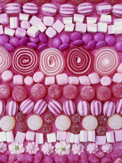 Assorted Pink Sweets-Linda Burgess-Photographic Print