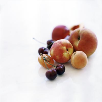 Assortment of Summer Fruit-David Munns-Photographic Print